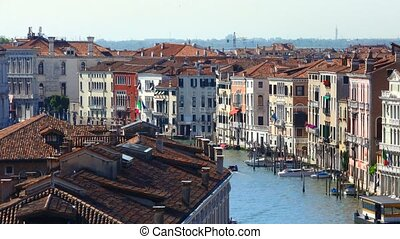 Venice, Grand Canal.