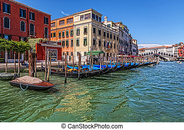 Venice. Grand Canal.