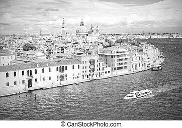 Venice in black and white, Venice Italy