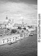 Venice in black and white, Venice, Italy
