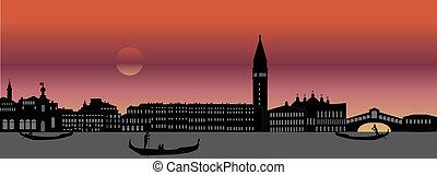 venice italian skyline