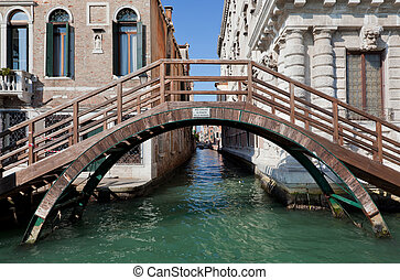 Venice, Italy. A bridge over Grand Canal
