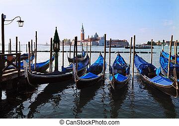 Venice Italy Cityscape - The Island of San Giorgio Maggiore...
