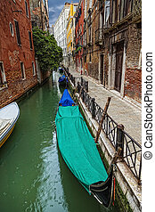 Venice on a rainy day. (HDR image)