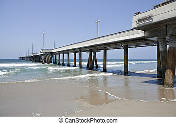 Venice Pier in Soutern California