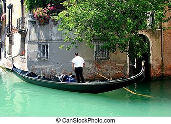Venice - Gondolier in Venice