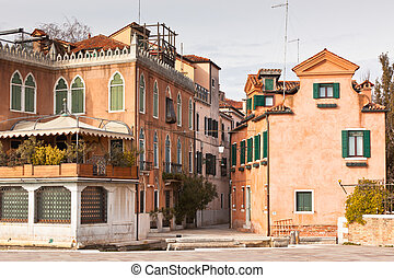 Venice urban scene