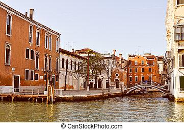 Venice Venezia - View of the city of Venice (Venezia) in ...
