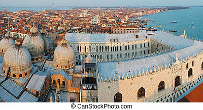 Venice,Italy, view from the bell tower