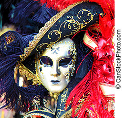 venise, masque, carnaval