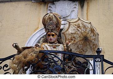 venitian, annecy, carnaval, francia