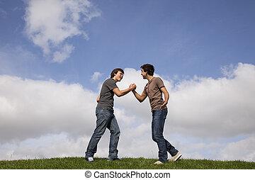 venskab, adolescent
