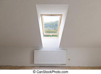 venster, dakvenster