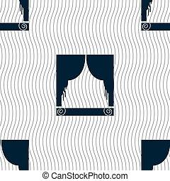 https://cdn.xl.thumbs.canstockphoto.be/venster-gordijnen-pictogram-teken-seamless-model-met-geometrisch-texture-vector-beeld_csp39772271.jpg