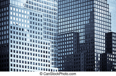 vensters, gebouwen, kantoor