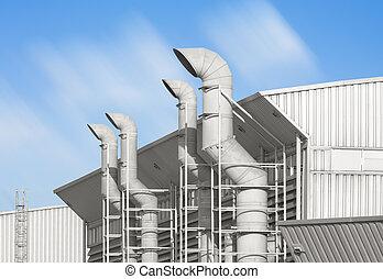 vent - Ventilation system of factory.