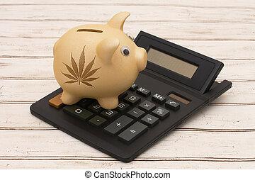 Venta, beneficio,  marijuana