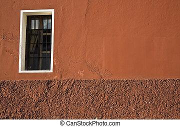 ventana, composición
