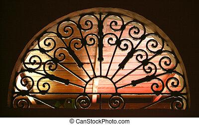 ventana, gótico