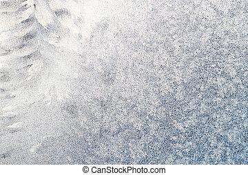 ventana, helado, tracery