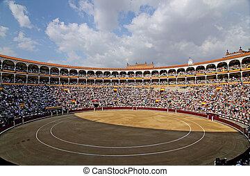 ventas, piazza, madrid, de, canc, toros, las