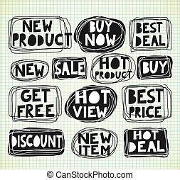 vente étiquette
