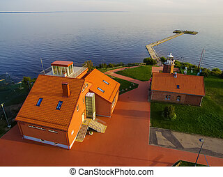 Vente Cape in Lithuania, bird ringing place