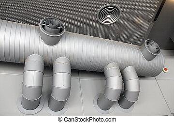 ventilação, sistema