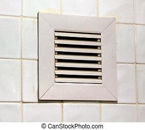 respiradero blanco ventilaci n cuarto de ba o parrilla