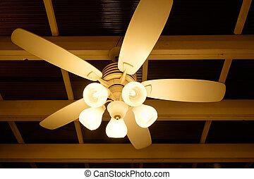ventilador del techo