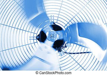 ventilador, industrial