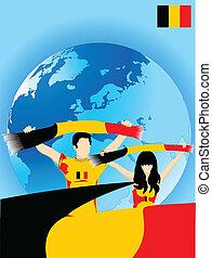 ventilateurs, sport, belge