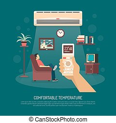 Ventilation Conditioning Heating Illustration