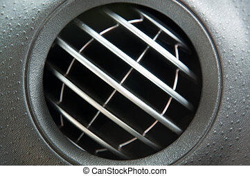 Air ventilation in a car