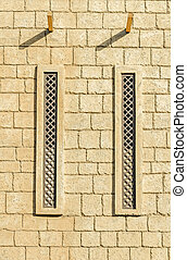Ventilation in a brick wall