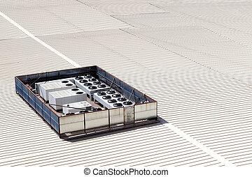 ventilation, industriel, appareils