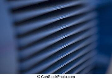 ventilation, industriel, flux air