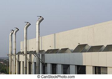 Ventilation of factories