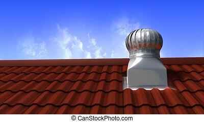 Ventilation turbine - Wind driven ventilation turbine.