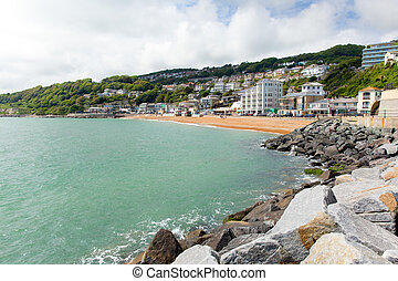 Ventnor seafront Isle of Wight uk