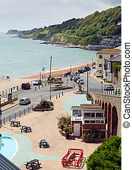 Ventnor town Isle of Wight uk