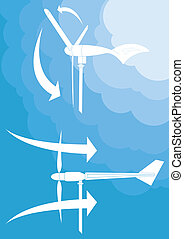 vento, energia alternativa, gerador