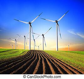 vento, geradores