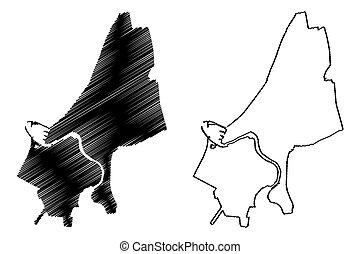 Ventspils City (Republic of Latvia, Administrative divisions...