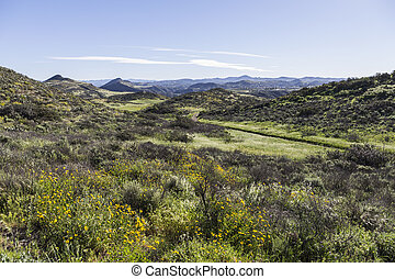 Ventura County California - Spring hills and meadows...