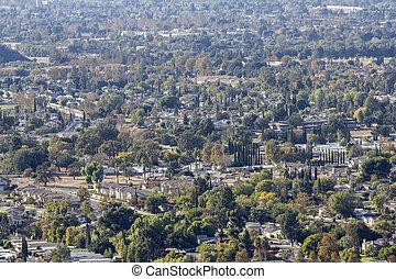 Ventura County California Suburban Cityscape - Simi Valley...