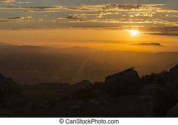 Ventura County California Sunset