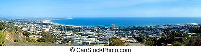 Ventura Ocean View - Panoramic view of Ventura with the...