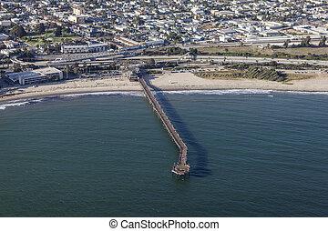 Ventura Pier Aerial
