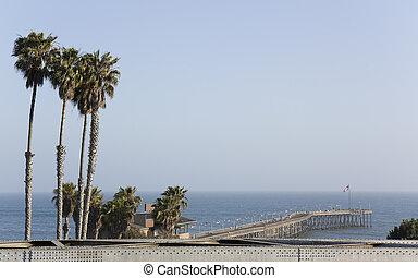 Historic Ventura Pier in Southern California